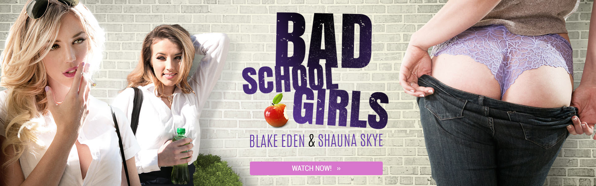 Bad school girls with Blake Eden & Shauna Skye